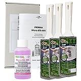 Calce Remover e urinaria steinent Inoltre Extra forte per bagno, doccia, WC e lavabo - intonaco pietra senza sostanze nocive - Cleaning elettrica WC - 3 Pack)