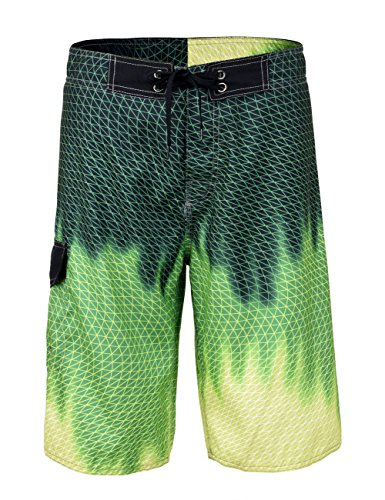 Swim Board Shorts (Nonwe Herren Board Shorts Sommer Meer Urlaub Swim Trunks Strand Wasser Anzug Pants 13340-34)