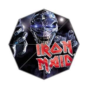 Iron Maiden skull custom mode Parapluie pliable