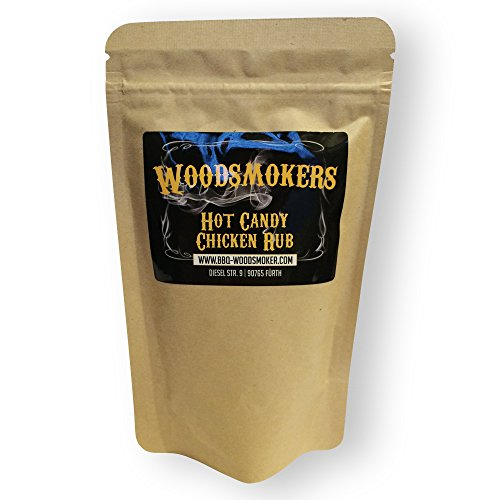 Woodsmokers BBQ Hot Candy Chicken Rub 150g