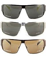 Exté Sonnenbrille Unisex Metall modern sportlich original Designerbrille mit Etui
