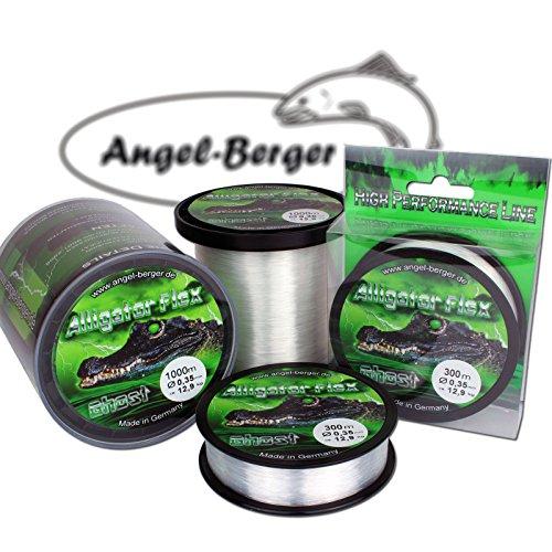 Angel Berger Alligator Flex Ghost Angelschnur verschiedene Stärken und Längen (0.35mm / 1000m)