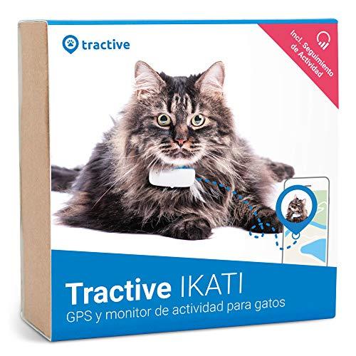 Tractive IKATI - Localizador GPS para gatos con seguimiento de actividad -...