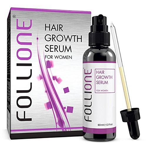 FolliOne Haarwachstums-Serum gegen Haarausfall für Frauen, regeneriert und stärkt das Haar -...