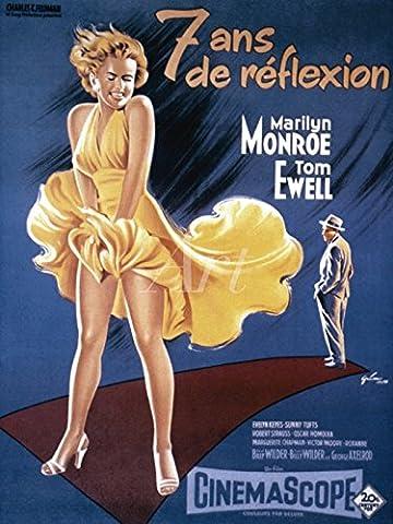 Artland Wandbilder selbstklebend aus Vliesstoff oder Vinyl-Folie Filmszene Das verflixte 7. Jahr 1955 Film & TV Film Malerei