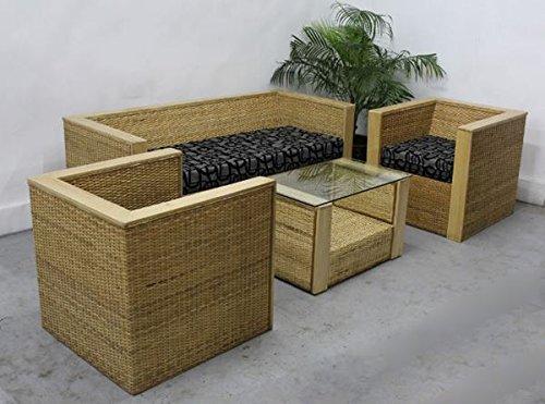 Amour Cane Box Sofa Set