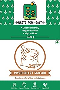 Millets for Health Mixed Millet Khichdi 400 g