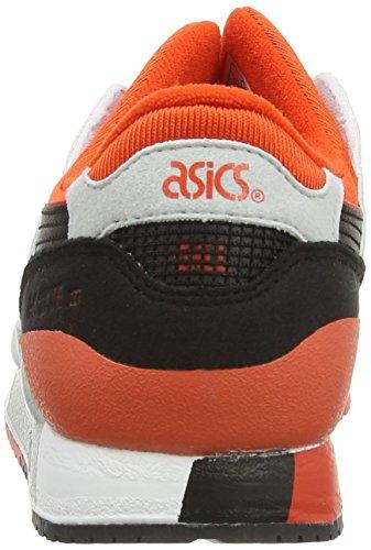 Asics Gel-Lyte III GS, Scarpe sportive, Unisex-adulto Bianco (White/Black 190)