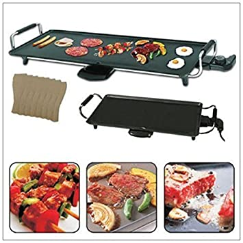 Garden Mile® 2Kw Electric Table Top Teppanyaki Grill Griddle ...