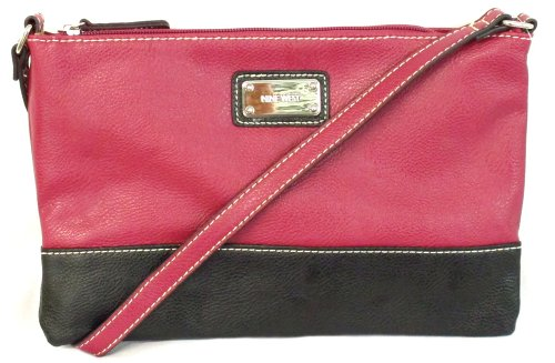 Nine West - Borsa a tracolla Donna Rosso (Cranberry)