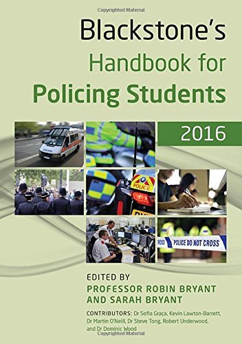 Blackstone's Handbook for Policing Students 2016 by Sofia Graça (2015-09-10)