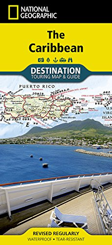 Caribbean (National Geographic Destination Map) por National Geographic Maps