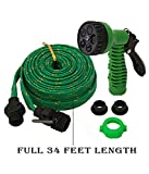 #4: 4 In 1 Car Bike Washing Spray Gun SGP 34 Feet By Meya Happy with Wide Hose Pipe | High Pressure Water Washer for Garden & Home Also.