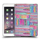 Head Case Designs Offizielle Ninola Multi Farbige Lineen Geometrisch Soft Gel Hülle für iPad Air 2 (2014)