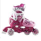 Kinder Inlineskates Triskates Nils Extreme NJ0320A pink Gr. 27-30, 31-34 verstellbar (31-34)