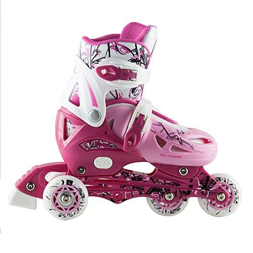 Kinder Inlineskates Triskates Nils Extreme NJ0320A pink Gr. 27-30, 31-34 verstellbar (27-30)