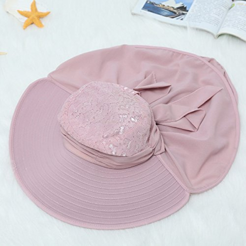 Lady Sunscreen Multi-purpose Summer Outdoor Cover Sun Hat A3