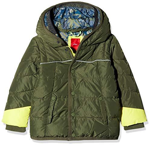 s.Oliver RED Label Junior Jungen Puffer Jacket mit doppelter Kapuze Khaki 134