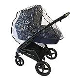 Knorr-Baby Regenschutzfolie für Premium Kombi-Kinderwagen Life+