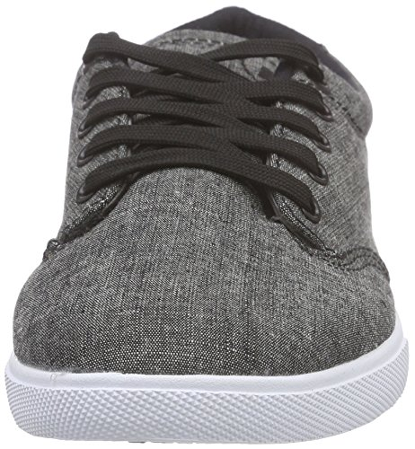 Globe Lighthouse-Slim Unisex-Erwachsene Sneakers Schwarz (black/chambray)
