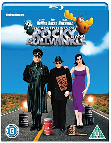The Adventures of Rocky and Bullwinkle [Blu-ray] [UK Import]