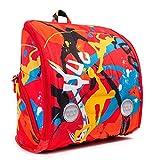 Ergonomischer Rucksack, YUU, JUUMP, orange mit Aktivitätsspaßpaket, für Ausflüge, Schule und Freizeit, YUUbag orange Orange