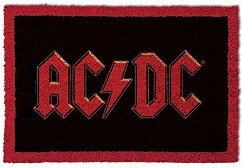 Felpudos Música AC/DC - Logo Felpudo Alfombrilla (60 x 40cm)