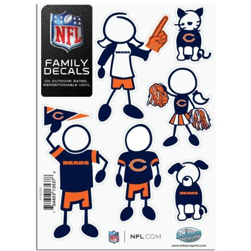 Bears Kleine Familien Aufkleber Set ()