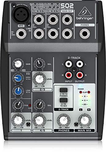 Behringer XENYX 502 Mischpult (Mischpult 502)