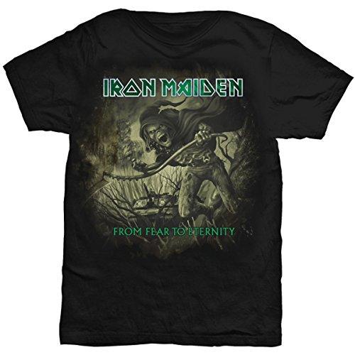 Collector's Mine Iron Maiden - From Fear To Eternety Distressed 7675TSBP Herren T-Shirt, Gr. 54 (XL), Schwarz