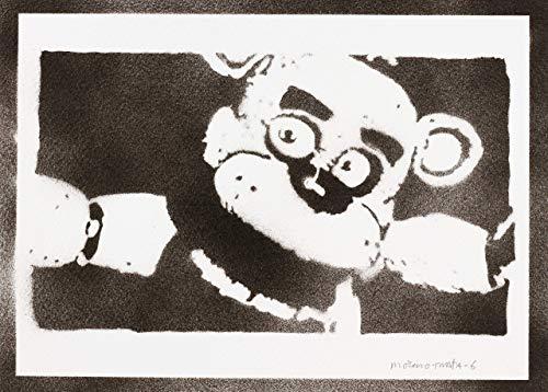 Five Nights At Freddy's Handmade Street Art - Artwork - Poster
