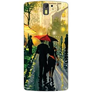 Oneplus One A0001 Back Cover - Romantic Walk Designer Cases