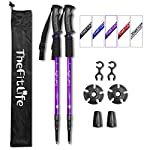 TheFitLife Hiking Walking Trekking Poles - 2 Pack With Antishock And Quick Lock System, Telescopic, Collapsible… 5