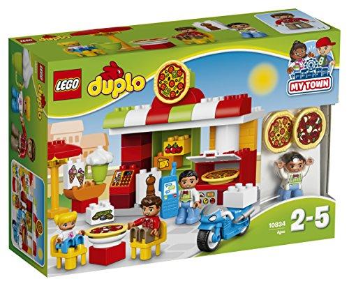 Lego 10834 Duplo Pizzeria, Lernspielzeug für Kleinkinder