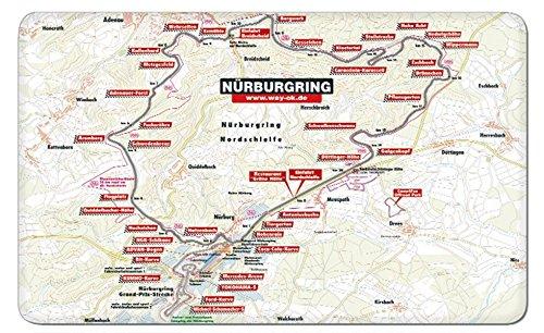 Frühstücksbrettchen Nürburgring