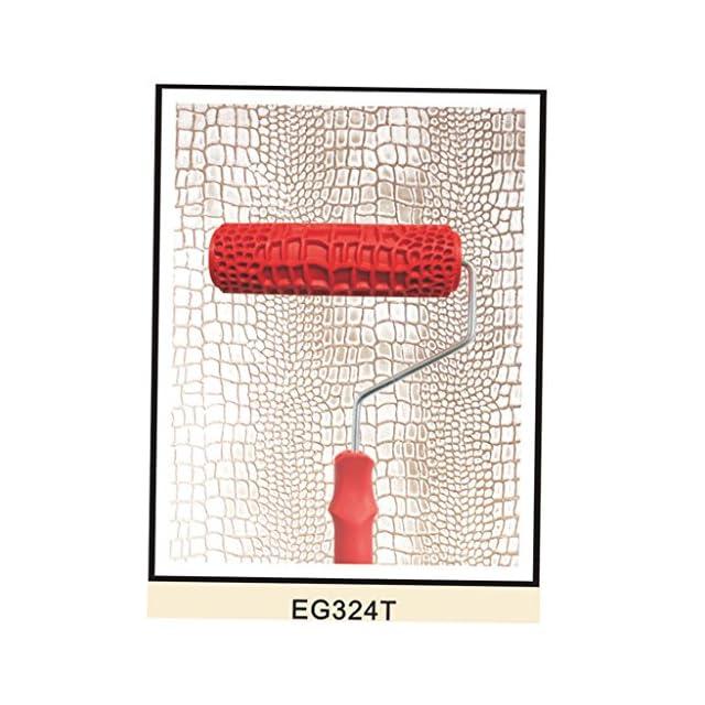 7inch Motif Mur De Briques Gaufré Rouleau De Peinture Avec