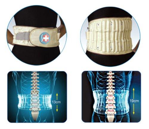 Lumbar Spinal-air Decompression Brace