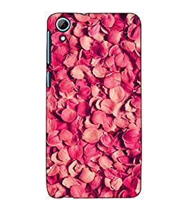 Fuson Designer Back Case Cover for HTC Desire 826 :: HTC Desire 826 Dual Sim (Rose Petals Natural Bucket Garden)