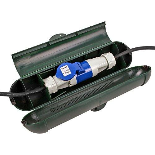 Sicurezza Box per spine CEE impermeabile con serratura