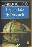 Le pendule de Foucault - Grasset