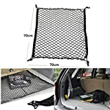 Tuqiang Auto-Kofferraum Organizer with Mesh Pocket Car Storage Shelf for Cars Nylon 70x70cm