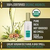 1001 Remèdes Huile d'Argan Pour Cheveux, Peau Sèche, Ongles - Huile Marocaine pour les cheveux - 100% Pure, Certifiée Bio et pressée à froid 30 ml