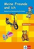 Meine Freunde und ich: Deutsch als Zweitsprache für Kinder. Bildkarten