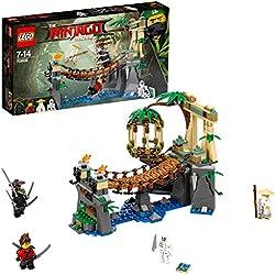 premium selection f44ed be2e3 Lego Ninjago- Cascate del Maestro, Multicolore, 70608