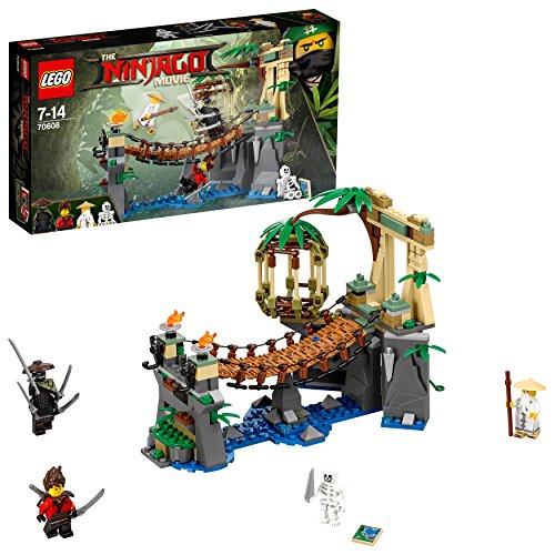 dschungel lego LEGO Ninjago 70608 - Meister Wu's Wasser-Fall