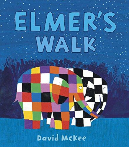 Elmer's Walk (Elmer the Patchwork Elephant) por David Mckee