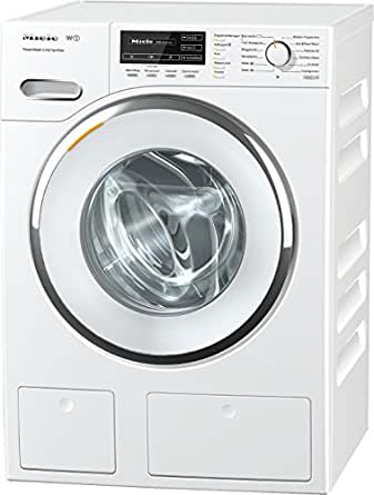 Miele WMH121WPS D LW PWash 2.0 und TDos Waschmaschine Frontlader / A+++ / 137 kWh / Jahr / 1600 UpM / 8 kg / Weiß / Schneller sauber geht es nicht - QuickPowerWash / Bestes Flüssigwaschmittel auf Knopfdruck