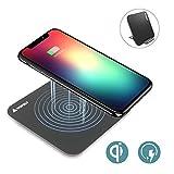 iPhone X Qi Wireless Charger,Wofalo Qi F...