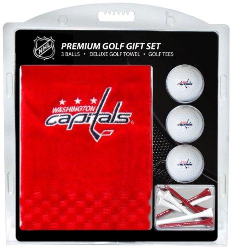 Team Golf NHL Washington Capitals Besticktes Handtuch Geschenk-Set