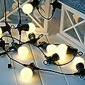 20er Led Party Lichterkette Warmwei Koppelbar Typ Pp von Lights4fun
